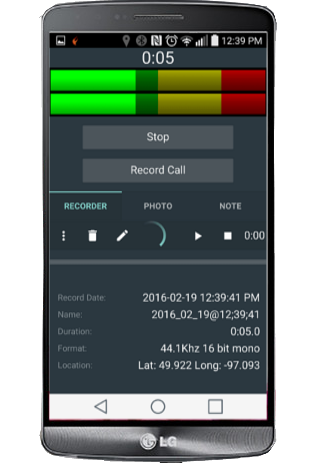 KLZ Interview Android Recorder