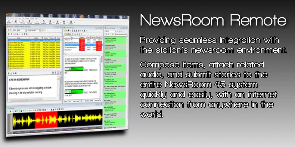NewsRoom Remote 45