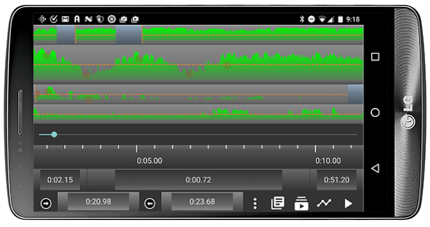 Android Multi-Track Editor